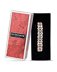 Jon Richard Rose gold flower bracelet