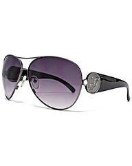 Guess G Temple Detail Aviator Sunglasses