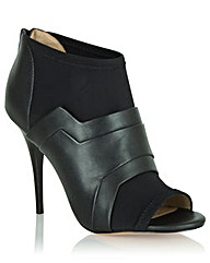 Daniel Bowburn Peep Toe Shoe Boot