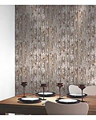 Arthouse Cabin Wood Wallpaper