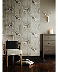 Arthouse Stag Wallpaper
