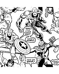Marvel Colour Your Own Superheroes