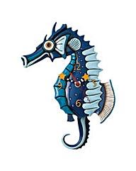 Allen Designs Salty Seahorse Clock