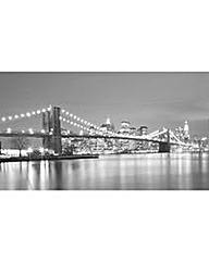 Arthouse Brooklyn Bridge at Night