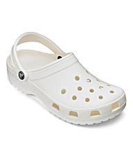 Crocs White Classic Clogs