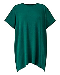 Green Ruched Back Top