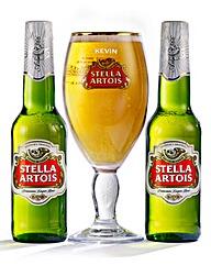Personalised Stella Artois Set