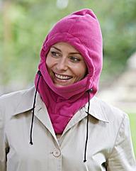 Set of Two 3 In One Fleecy Hoods