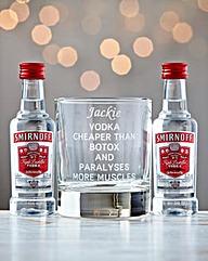 Personalised Vodka Cheaper Than Botox