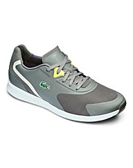 Lacoste LTR.01 Grey Lace Up Trainers
