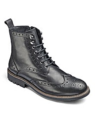 Trustyle Brogue Boot Extra Wide Fit