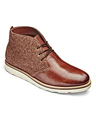 Felt Mix Chukka Boot
