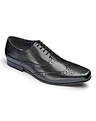 Leather Formal Brogue Shoes