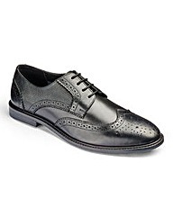 Trustyle Textured Insert Brogue Shoes