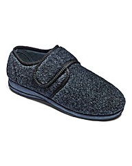 Comfort Touch & Close Slipper Extra Wide