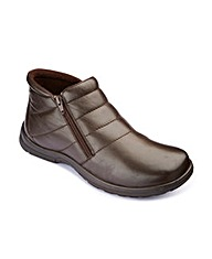 Dr Keller Double Zip Boots Extra Wide