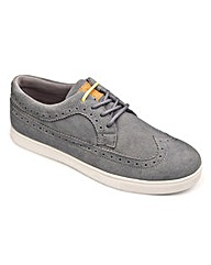 Joe Browns Suede Brogue Extra Wide Fit