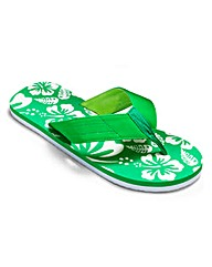 Southbay Palm Printed Flip Flops