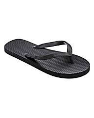 Southbay Basic Black Flip Flop
