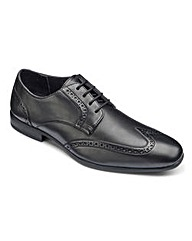 Black Label Brogues Extra Wide Fit