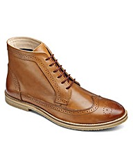 Joe Browns Brogue Boots Extra Wide Fit