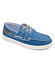 Southbay Lace Up Canvas Boat Shoe