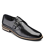 Black Label Monk Shoe Wide Fit