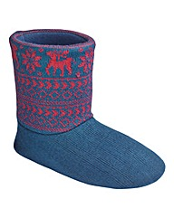 Knitted Boot Slipper