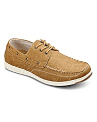 Cushion Walk Lace Up Boat Shoe Wide