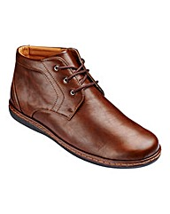 Cushion Walk Mid Lace Up Boot Wide