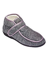 Cushion Walk Slipper Boot Wide