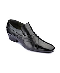 Cuban Heel Slip On Shoes Standard Fit
