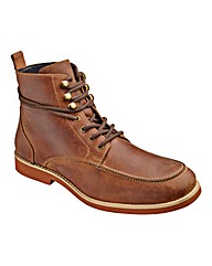 Flintoff Leather Lace-Up Boots