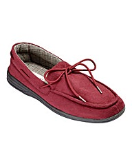 Cushion Walk Moccasin Slipper Wide
