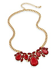 Cranberry Statement Necklace
