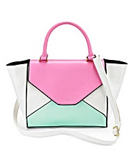 Colour Block Winged Bag