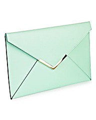 Pastel Envelope Clutch Bag