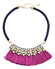 Tassel Statement Necklace