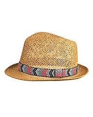 Aztec Trilby Hat
