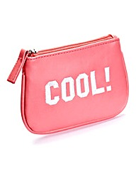 Mini Slogan Purse