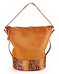 Tan Animal Shopper Bag