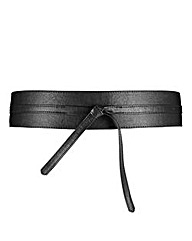 Black Obi Belt