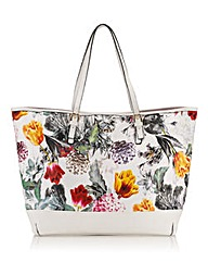 LIPSY BRIGHT FLORAL SHOPPER