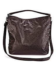 Studded Slouch Shopper Bag