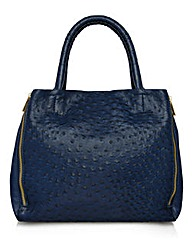 Together Faux Ostrich Bag