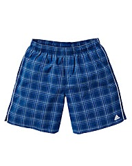 Mens Adidas Check Swim Shorts