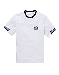 Admiral Style Crew Neck T-Shirt Long