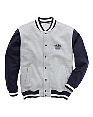 Admiral Style Baseball Jacket Long
