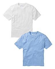 JCM Pack of Two Crew Neck T-Shirts