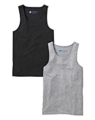 JCM Pack Of Two Vest Tops